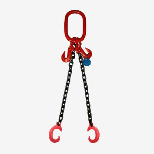 2 Legs Lifting Chain Sling - Clevis C Hook - G80