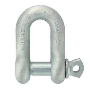 S6 High Strength Screw Pin Shackle Chain Rigging Dee Shackle